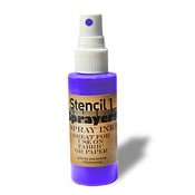 Stencil1 Sprayers Day - Glow Colors 2oz - Purple