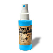 Turquoise - Stencil1 Sprayers Day-Glow Colors 2oz
