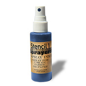 Stencil1 Sprayers Standard Colors 2oz - Blue