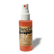 Stencil1 Sprayers Standard Colors 2oz - Orange