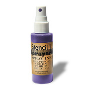 Stencil1 Sprayers Standard Colors 2oz - Purple