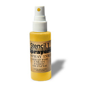 Stencil1 Sprayers Standard Colors 2oz - Yellow