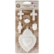 Spirit Treasures Cast Embellishments - Relic & Artifacts - Prima