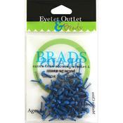 Dark Blue - Eyelet Outlet Round Brads 4mm 70/Pkg