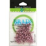 Pastel Pink - Eyelet Outlet Round Brads 4mm 70/Pkg