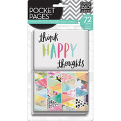 "Me & My Big Ideas Pocket Pages Themed Cards 3""X4"" 72/Pkg - Journal Elements"
