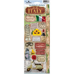 "Paper House Cardstock Stickers 4.625""X13""-Italy"