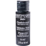 Black - Folkart Multi-Surface Chalkboard Paint 2oz