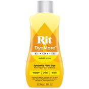 Daffodil Yellow - Rit Dye More Synthetic 7oz