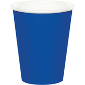 Cobalt - Paper Hot & Cold Cups 9oz 24/Pkg