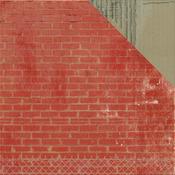 Brick Wall Paper - Scrap Yard - KaiserCraft