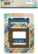 So Rad Chipboard Frames - Simple Stories