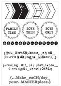 Scrap Yard Clear Stamp - KaiserCraft