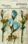 Teal Calla Lilies & Berries - Petaloo