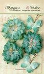 Teal Mums & Butterflies - Petaloo