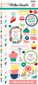 My Little Girl Sticker Sheet - Echo Park