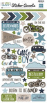 My Little Boy Sticker Sheet - Echo Park