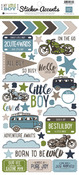 My Little Boy Sticker Sheet - Echo Park