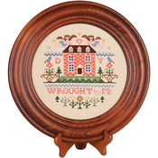 "Design Area 8"" Round - Mahogany Crown Plate 11.5"" Round"