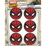 "Spiderman 1.625"" Round 6/Pkg - Marvel Comics Patch"