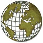 Globe Thinlits Die - Sizzix - Tim Holtz