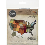United States - Sizzix Thinlits Dies 3/Pkg By Tim Holtz