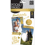 Wedding Day Clear Stickers - Pocket Pages - Me & My Big Ideas