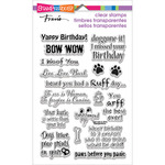 "Stampendous Perfectly Clear Stamps 4""X6"" Pkg - Dog Sayings"