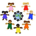 Children Around The World - Dress It Up Embellishments