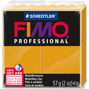Fimo Professional Soft Polymer Clay 2oz - Ochre