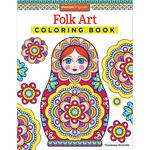 Design Originals - Folk Art Coloring Book