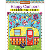 Design Originals - Happy Campers Coloring Book