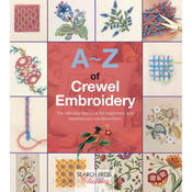 Search Press Books - A - Z Of Crewel Embroidery