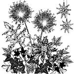 Winter Garden - Crafty Individuals Unmounted Rubber Stamp