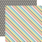 Pirate Stripes Paper - Pirates Life - Echo Park