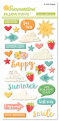 Summertime Pillow Puff Stickers - October Afternoon