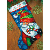 Sweet Santa Stocking Needlepoint Kit