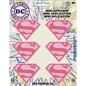 "Supergirl 2""X1.5"" 6/Pkg - DC Comics Patch"