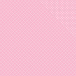 "Tickled Pink Two Quatrefoil/Dot - Spectrum Double-Sided Cardstock 12""X12"""
