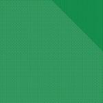 "Kelly Green One Pinwheel/Stripe - Spectrum Double-Sided Cardstock 12""X12"""