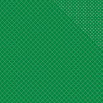 "Kelly Green Two Quatrefoil/Dot - Spectrum Double-Sided Cardstock 12""X12"""