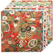 "Yuzen Red - Fold 'Ems Origami Paper 5.875"" 10/Pkg"
