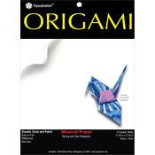 "Mineral White - Fold 'Ems Origami Paper 5.875"" 10/Pkg"