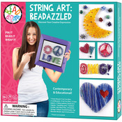 String Art Beadazzled Kit-