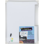 "Magnetic Dry Erase Board 18""X24""-"