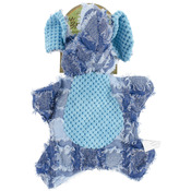 Blue Elephant - Nandog My BFF Unstuffed Patch Corduroy Plush Toy