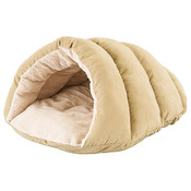 """Tan - Cuddle Cave For Cats 22""""X17""""X10"""""""