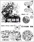 Dream On Cling Stamp - Prima