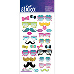 Glasses & Shades Sticko Puffy Stickers