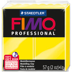 Yellow - Fimo Professional Soft Polymer Clay 2oz